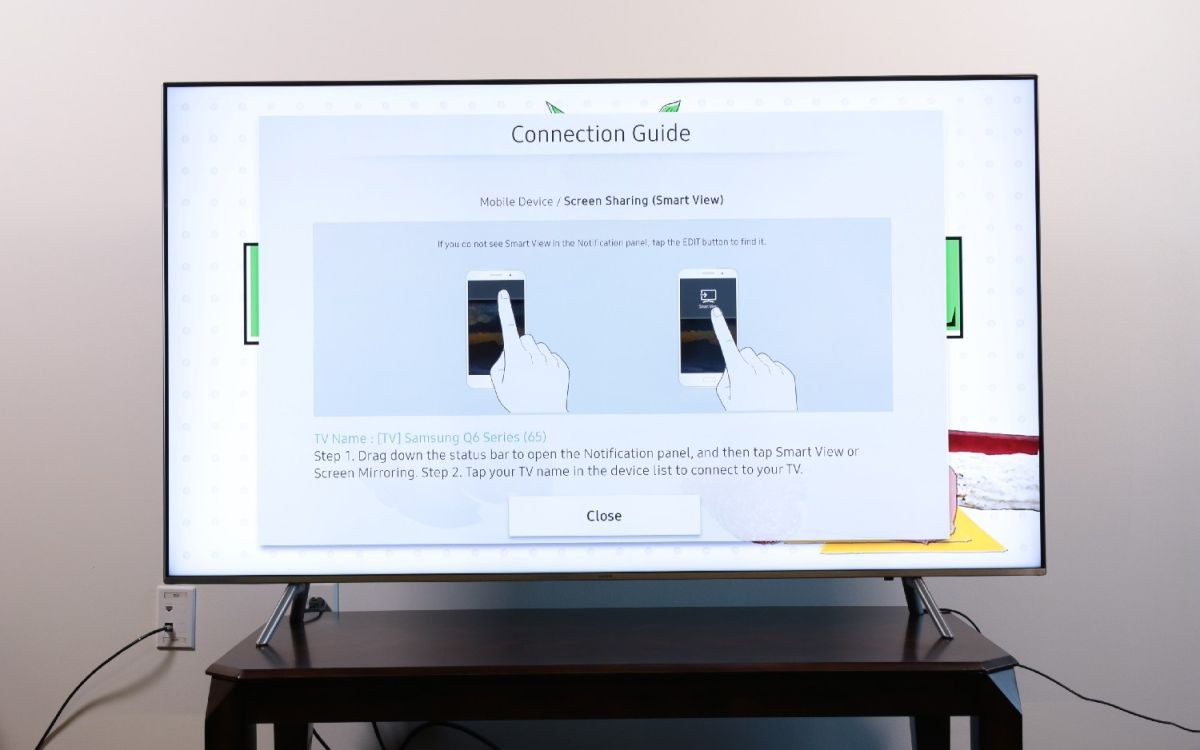 How to Set Up Screen Mirroring on Your Samsung TV - Samsung