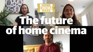 Video: the future of home cinema - stick-on TVs, anywhere projectors and more