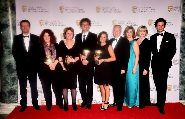 Happy Valley scooped the Bafta for Best Drama Series