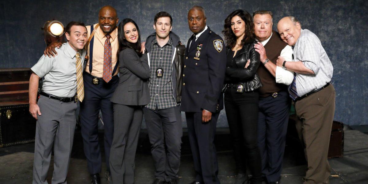 Brooklyn Nine-Nine Joe Lo Truglio Charles Boyle Terry Crews Terry Jeffords Melissa Fumero Amy Santia