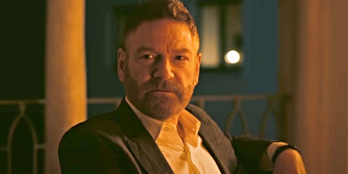 Kenneth Branagh in Christopher Nolan's Tenet 2020