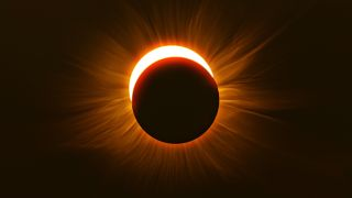 How to photograph a solar eclipse: image shows solar eclipse