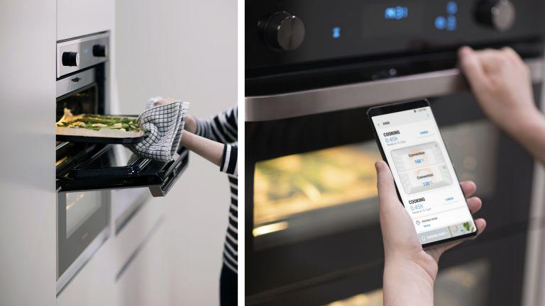 Samsung Dual Cook Flex oven