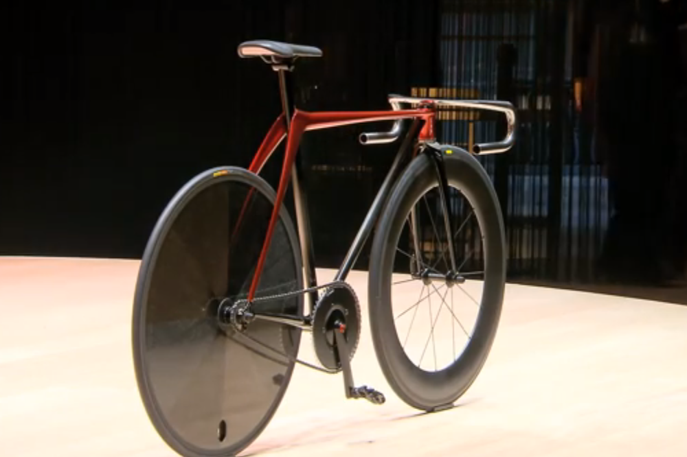 Mazda unveils this stunning concept track bike