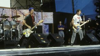 Green Day at Woodstock
