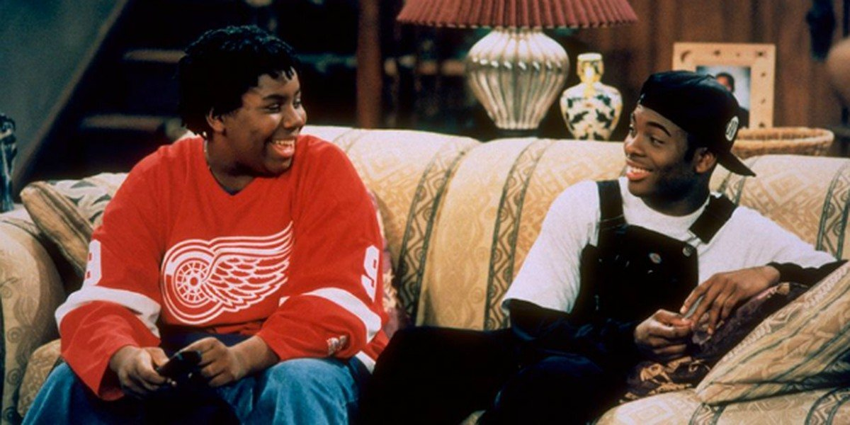 Kenan and Kel in the show.