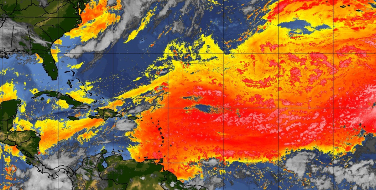 The giant Saharan dust plume has arrived in the US