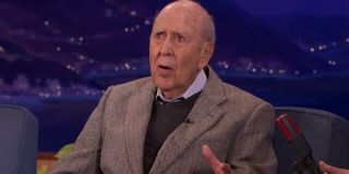 Conan Carl Reiner tells a story in the chair
