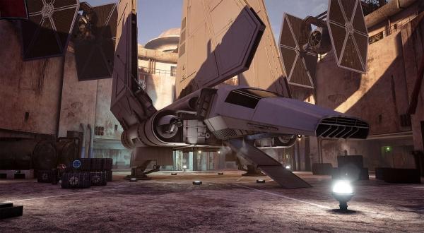 Star Wars Mos Eisley Unreal Engine 4