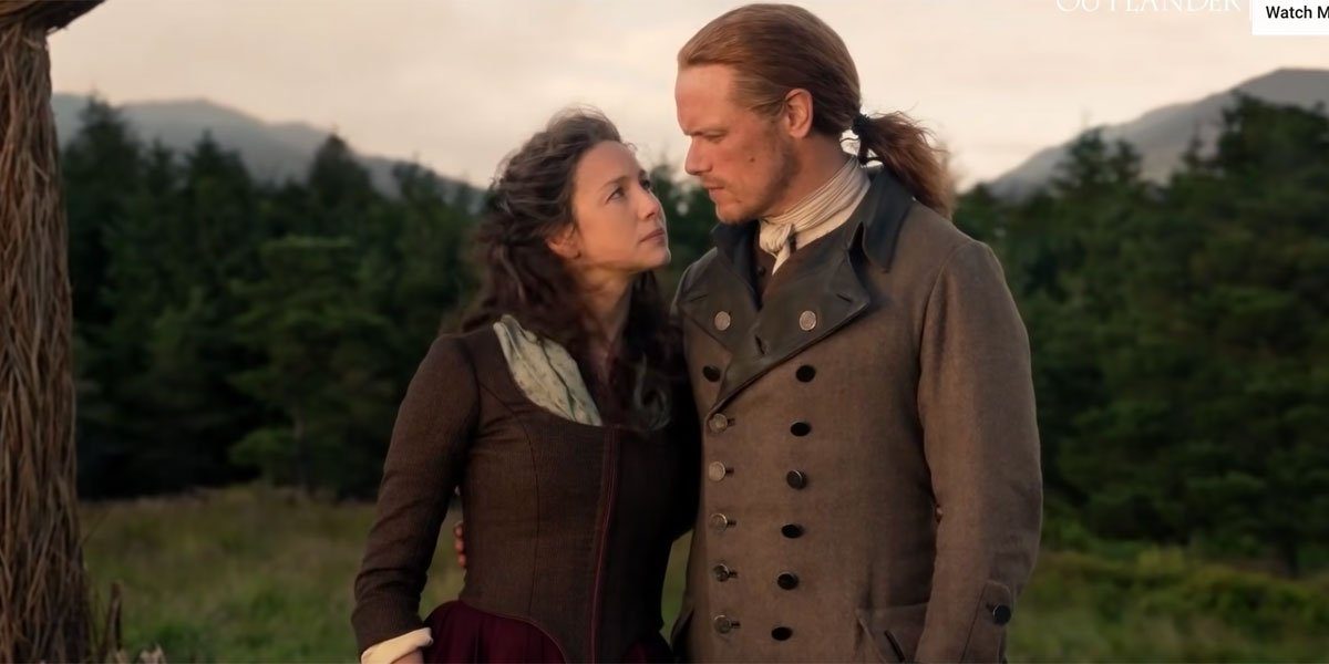 Outlander's Sam Heughan Promises Claire And Jamie Are 'Still The Sexiest Couple' In Season 5