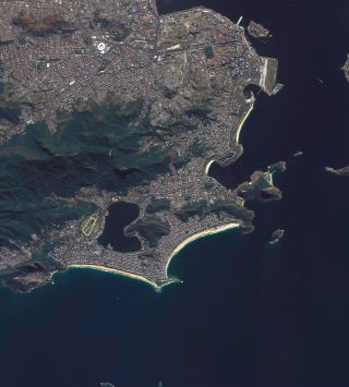 UrtheCast's Deimos-2 satellite image of Rio