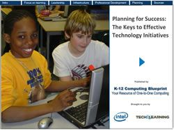 Planning for Success: The Keys to Effective Technology Initiatives