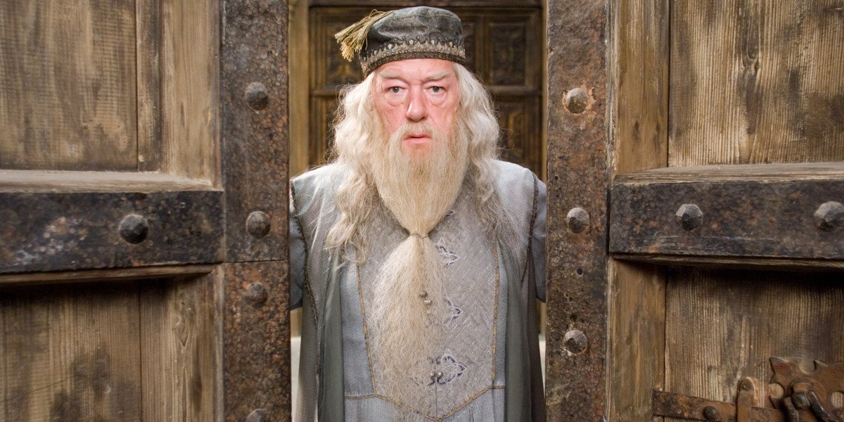Dumbledore in the Harry Potter movies