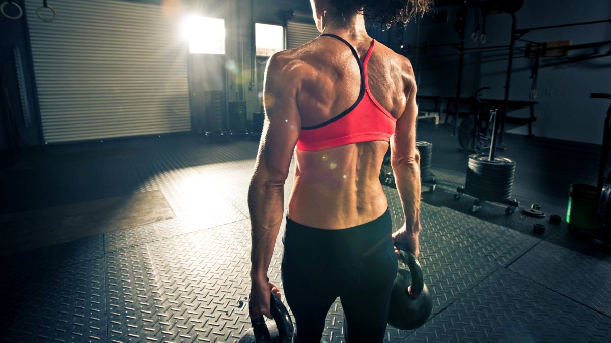 Try this six-step kettlebell arm workout for lean, toned arms