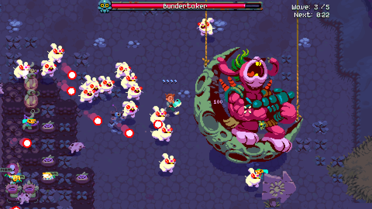 Farming game meets roguelike shooter Atomicrops now has a release date