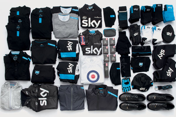 Calendar Weeks : Sky s rapha wrapping for cycling weekly