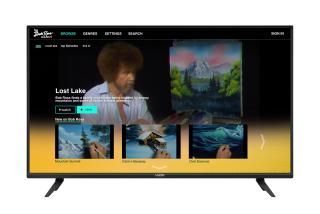 Vizio SmartCast Bob Ross Channel Cinedigm