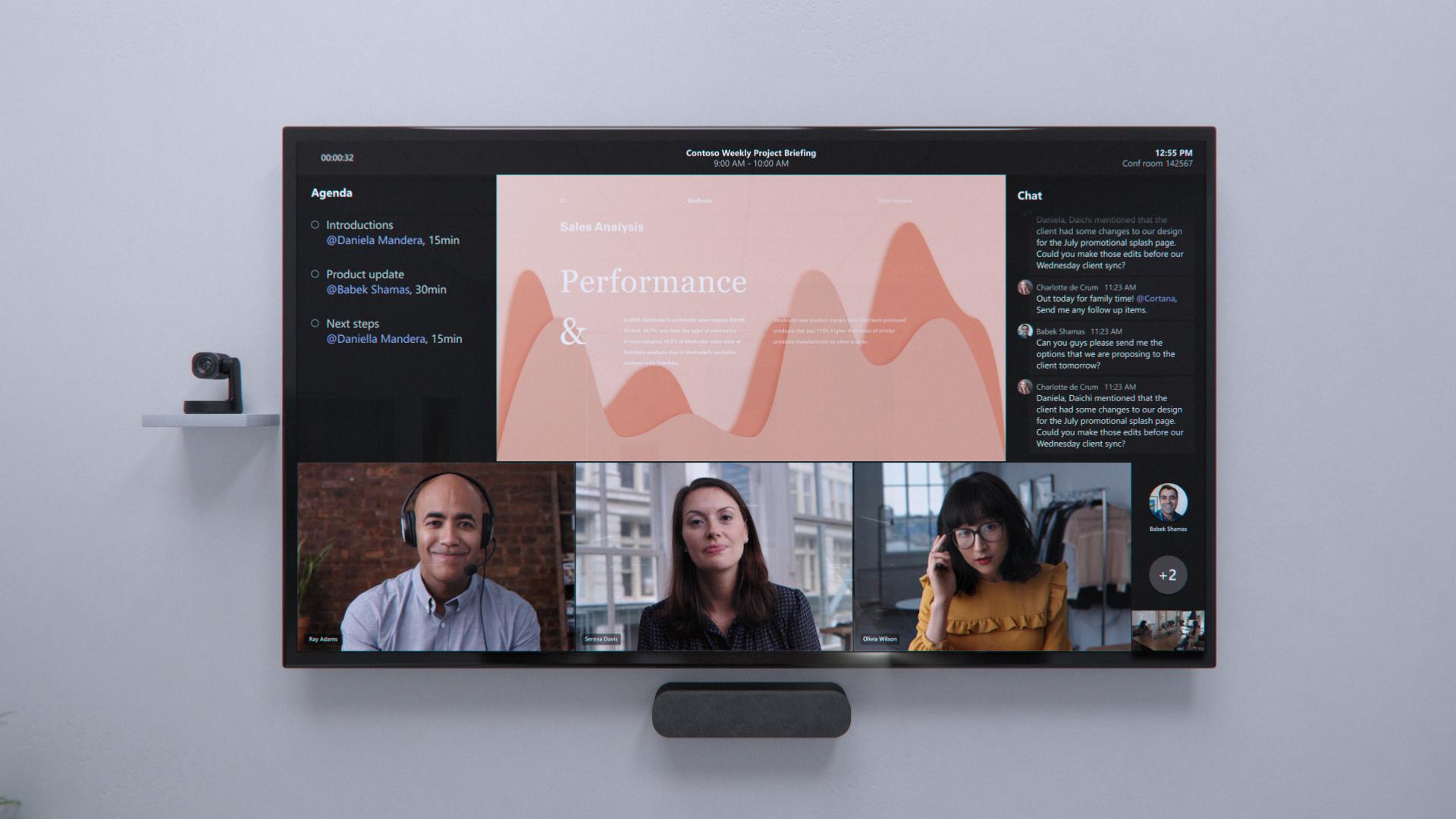 Actualizaciones de Microsoft Team Hybrid Office