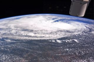 Astronaut Randy Bresnik's View of Tropical Storm Harvey