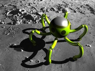 Italy Aims to Send Spider-Bot Swarm to Moon