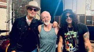 Slash, Phil Collen and Robert DeLeo