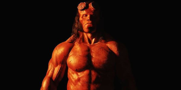 First image of David Harbour as Hellboy