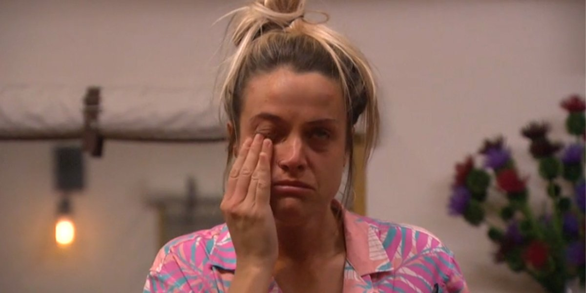 Big Brother 2019 Christie cries on live feeds as third nominee from field trip CBS