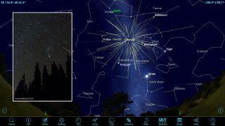 orion meteor shower