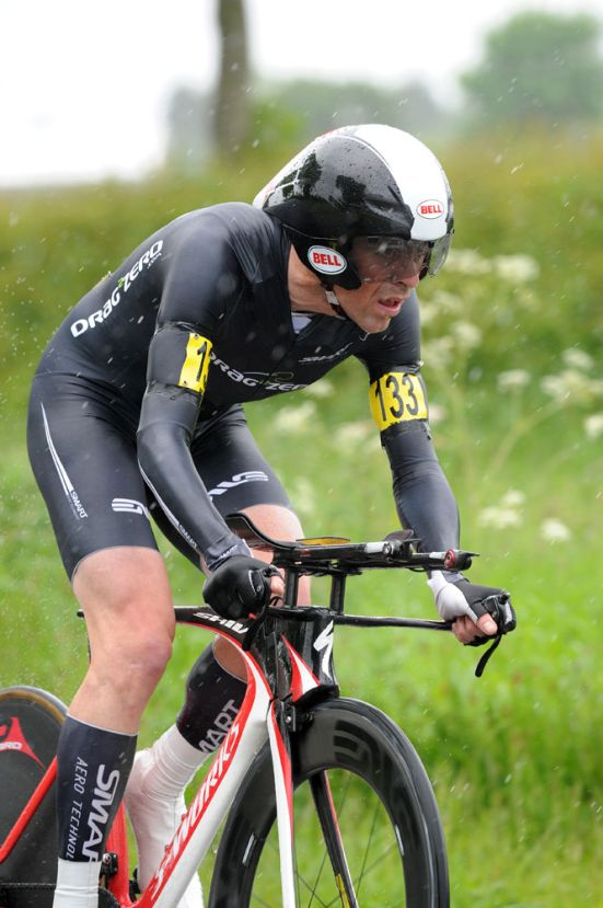 Jeff Jones, ninth, National 25-mile time trial championships 2012