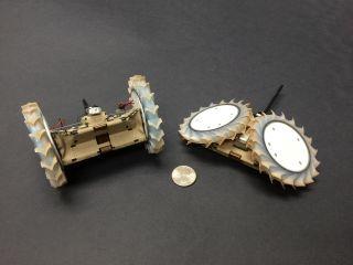 NASA's PUFFER Minirover