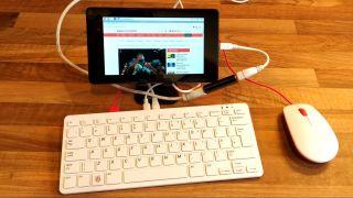 Tablet as a Portable Raspberry Pi Screen