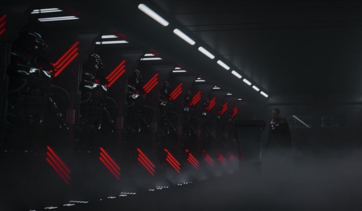 the mandalorian dark troopers disney+ screenshot