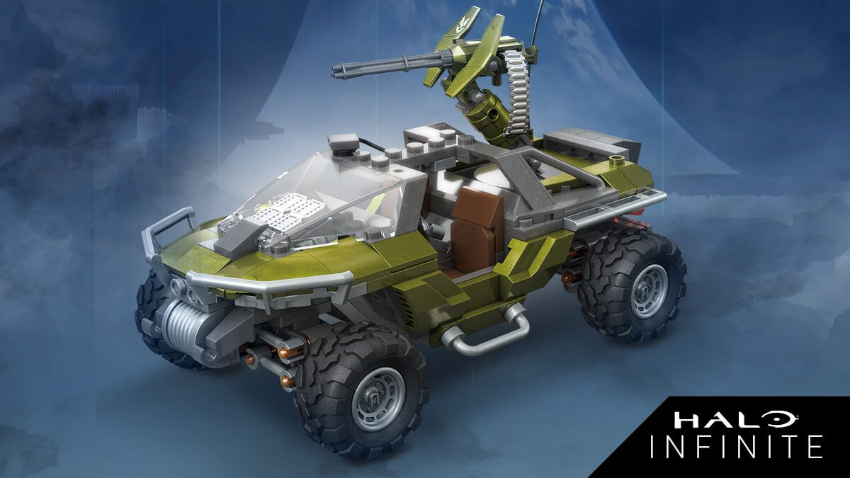 Build your own Halo Infinite warthog and more with these new toys from Mega Construx - GamesRadar+