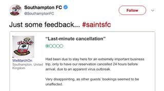 Southampton review