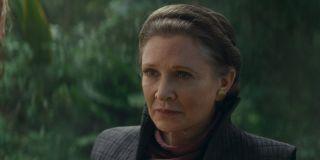Leia training Rey