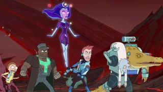 The Vindicators in Rick and Morty