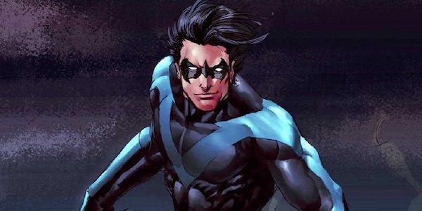 Nightwing from the comics