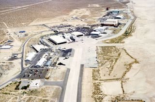Aerial View of NASA's Dryden Flight Research Facility