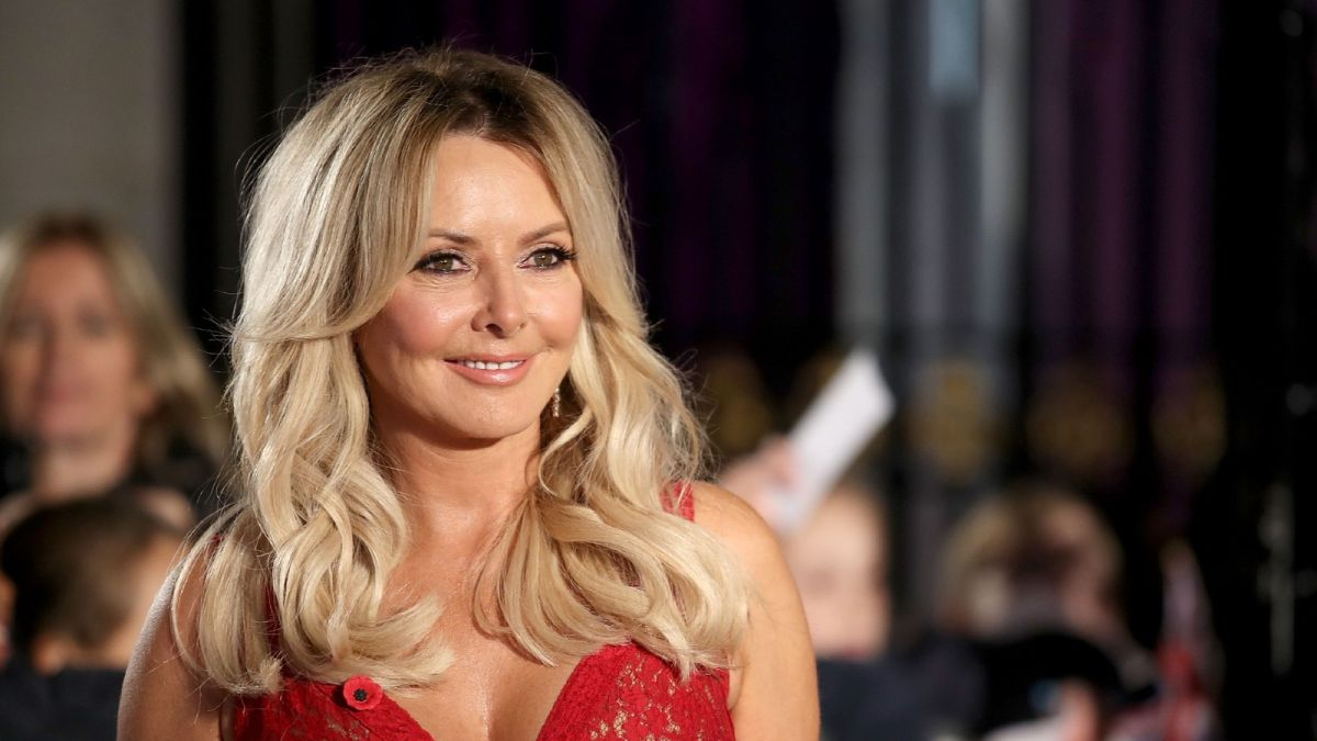 Carol Vorderman and her bum wow followers as she reveals fitness secrets