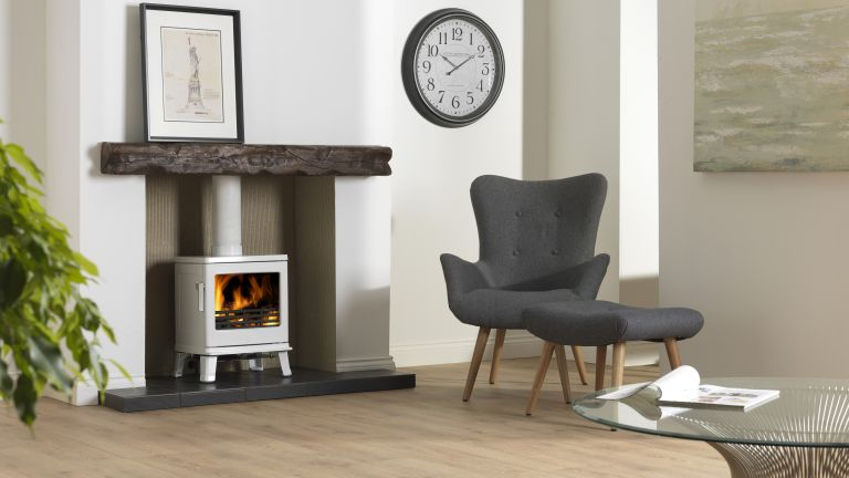 Learn how to lay your own tiled fireplace hearth