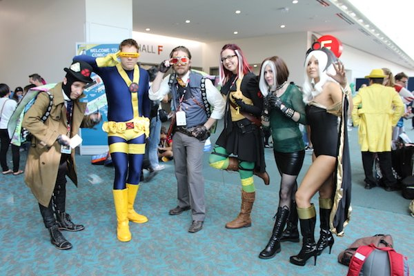 SDCC Costume group