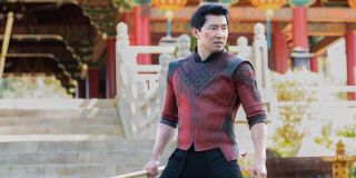 Shang-Chi reupping on his training upon returning home in Shang-Chi and the Legend of the Ten Rings
