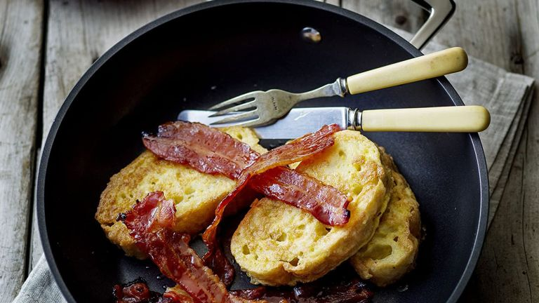 Best non-stick frying pan: Le Creuset Toughened Non-Stick Deep Frying Pan with Helper Handle