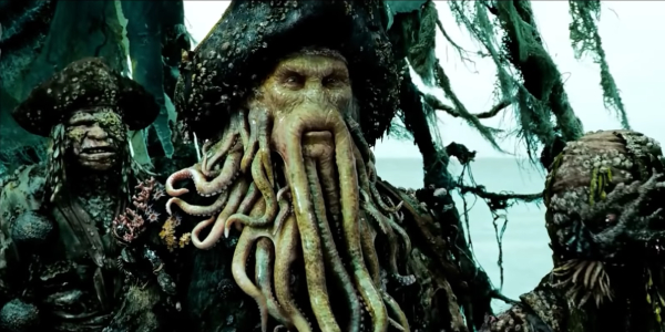 Davy Jones (Bill Nighy) is sworn to collect his debt with Capt. Jack Sparrow
