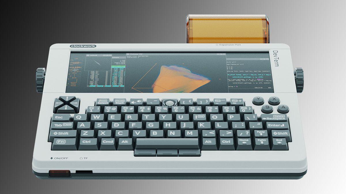 Delayed Retro Portable DevTerm Shipping Soon