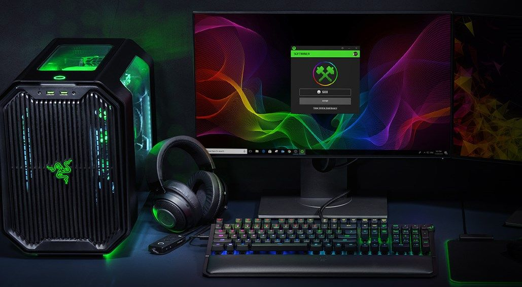 Razer will give you store credit for mining cryptocurrency (that you don't get to keep)