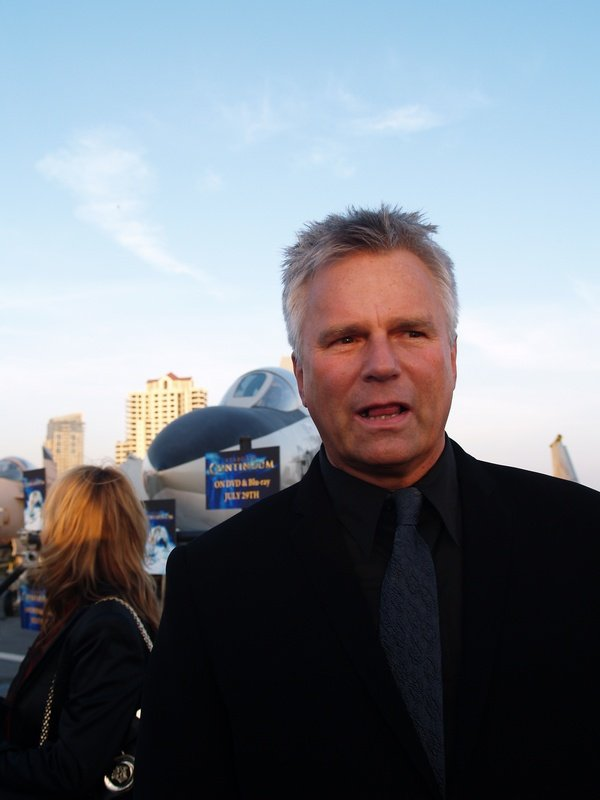 Comic Con: Aircraft Carrier Premiere Of Stargate Continuum #2778