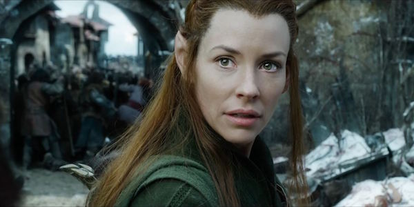 Evangeline Lilly in The Hobbit
