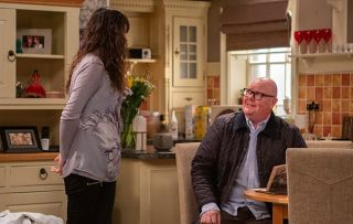 As a nervous Chas and Paddy prepare for their scan, Paddy decides to build a garden in Gracie's memory in Emmerdale