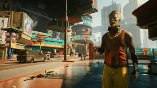 Cyberpunk 2077 can run on GeForce Now, which is useful if you're on outdated hardware